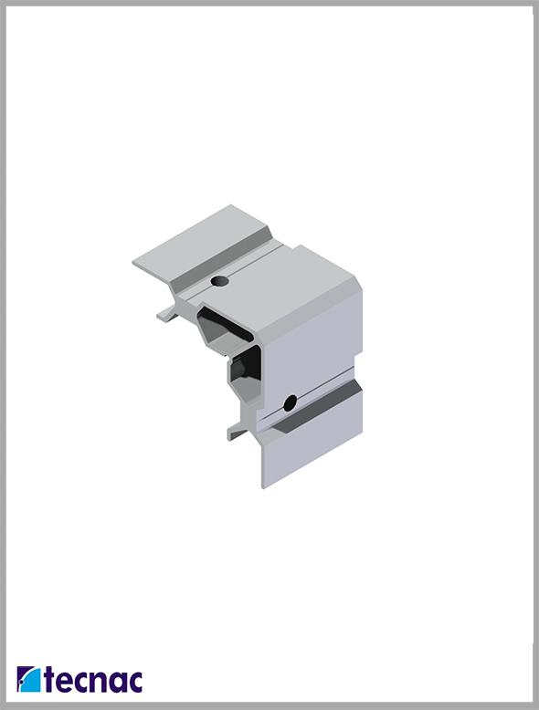 escuadra aluminio 4020 despiece