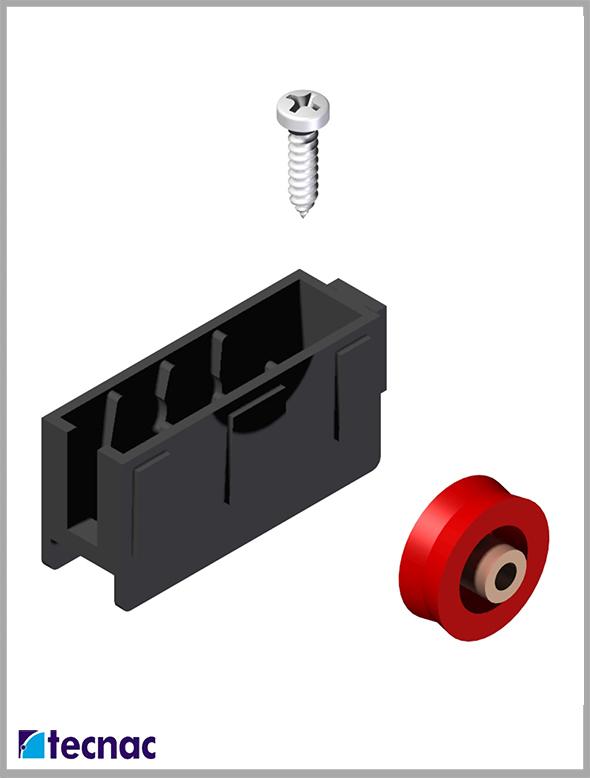 rueda nylon 9200 despiece
