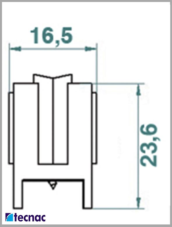 rueda nylon 9200 lineal