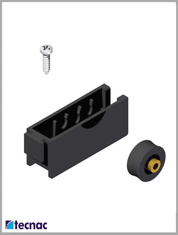 rueda nylon alg400 despiece
