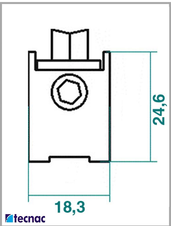 rueda zamak al24 lineal